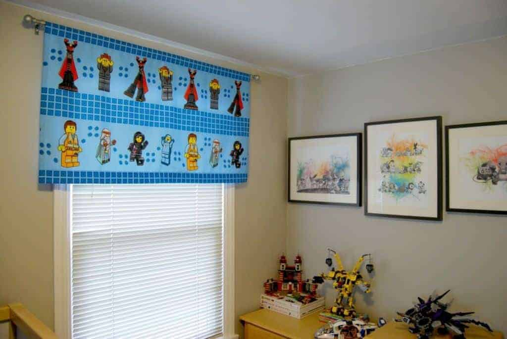 dresser with Legos and Pokemon art
