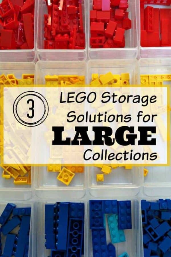Tired of stepping on LEGO pieces? Here are three LEGO storage solutions for your childu0027s  sc 1 st  The Handymanu0027s Daughter & 3 LEGO Storage Solutions for Large Collections - The Handymanu0027s Daughter