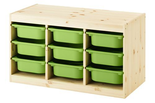 The IKEA Trofast is the perfect way to store and organize a large LEGO collection!