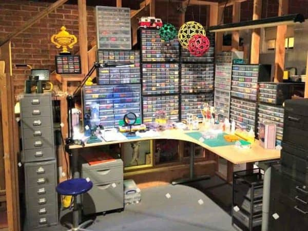 Can you spot our drawer organizers in the Lego Movie set?