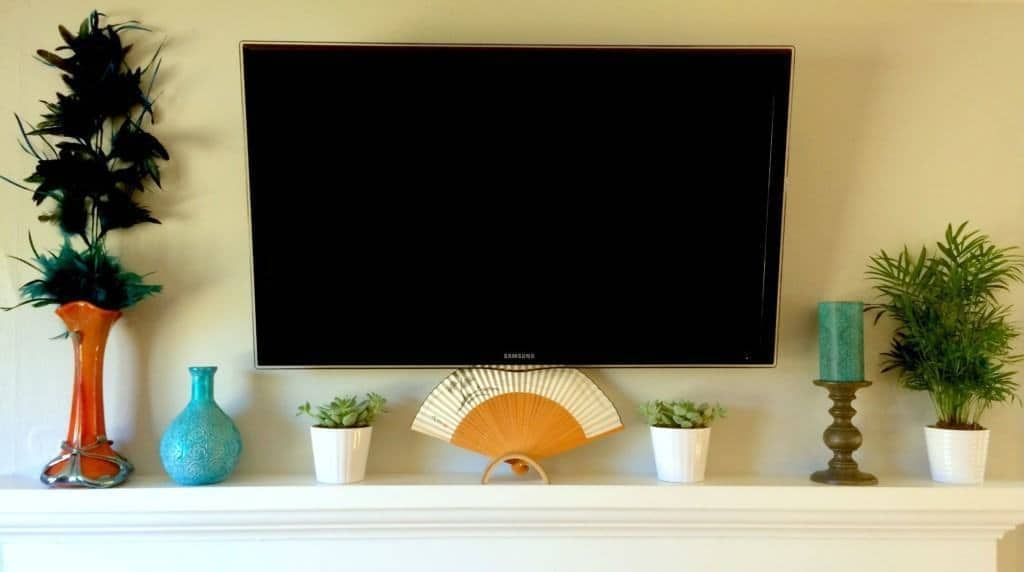 Tackling Another Eyesore: Hide the TV Cords - The Handyman\'s Daughter