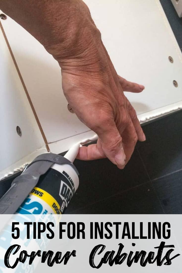 5 tips for installing corner cabinets