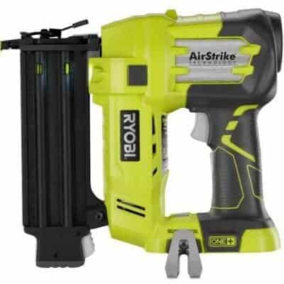 This brad nailer is so easy to use! No more compressors or cords to hold you back. Best of all, no more bent nails or hammered fingers!
