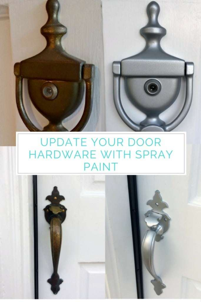 donu0027t spend a ton of money updating your door hardware with a few
