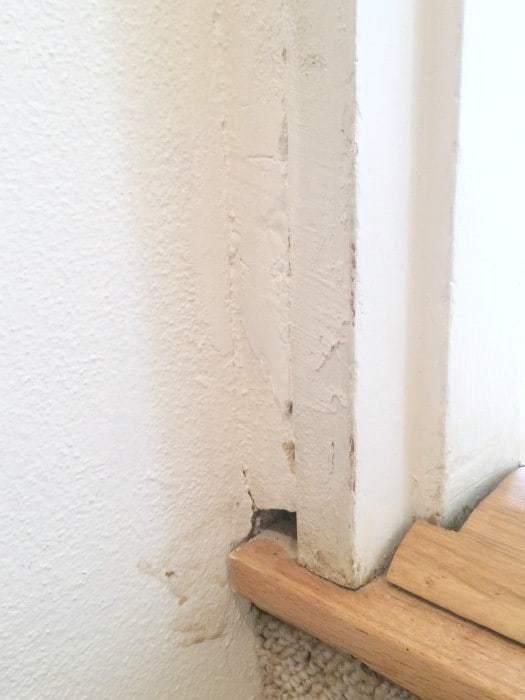 Door Trim on a Not-Quite-Square Door Frame - The Handyman\'s Daughter