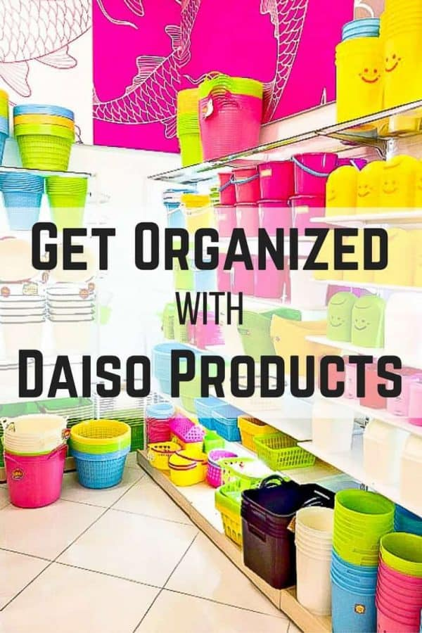 Need to get organized? I used Daiso products (the Japanese dollar store) to get my linen closet organized! #organize #organization #storage #dollarstore