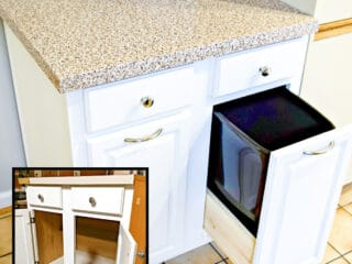 used kitchen cabinets before and after