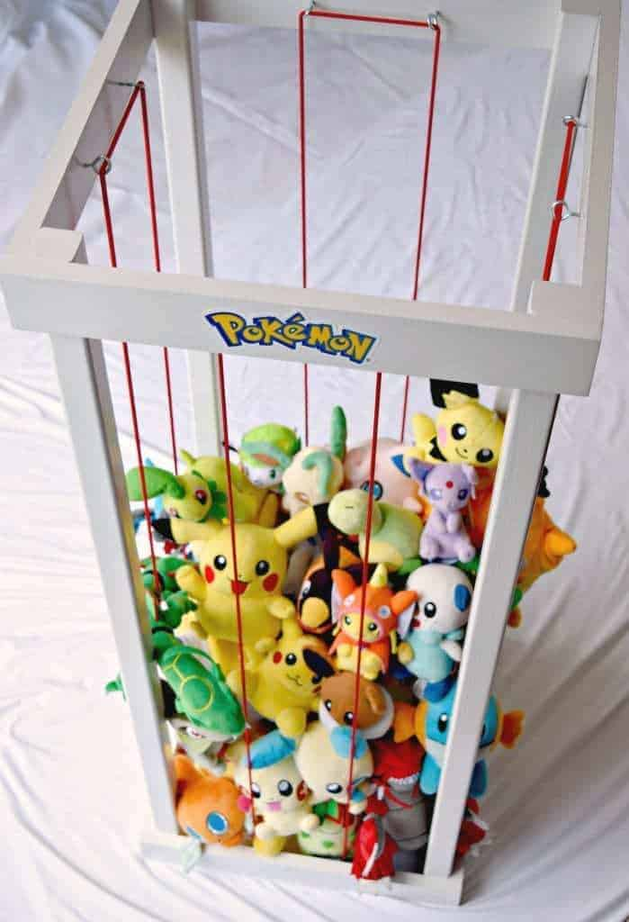 DIY Pokemon Center (Gotta Catch 'em All!) - The Handyman's Daughter