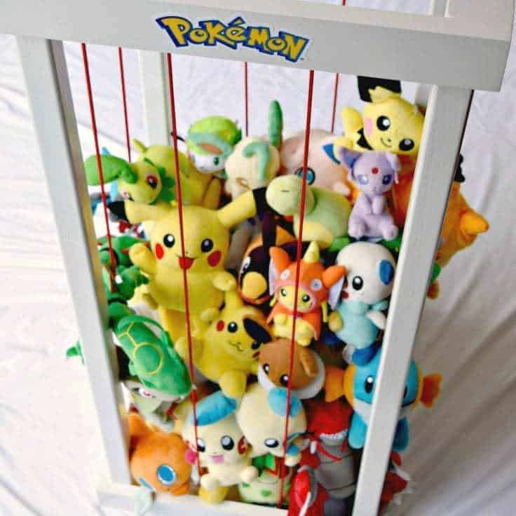 This DIY Pokemon Center keeps all your plush Pokemon friends in one place! - The Handyman's Daughter