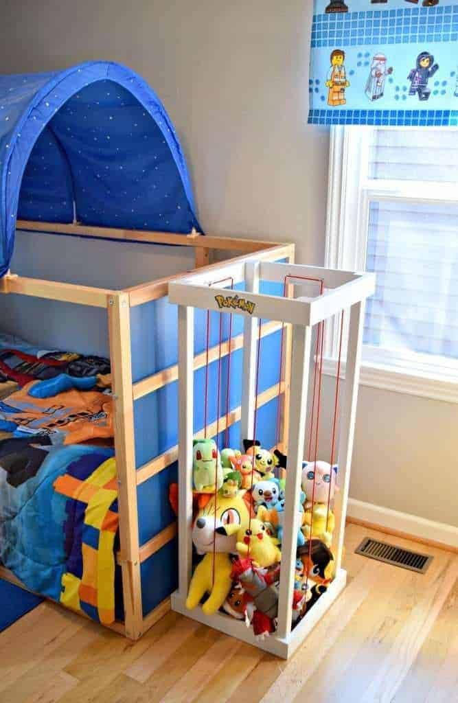 A Pokemon Center is the perfect addition to our son's room! - The Handyman's Daughter