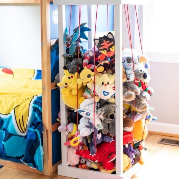 DIY stuffed animal zoo