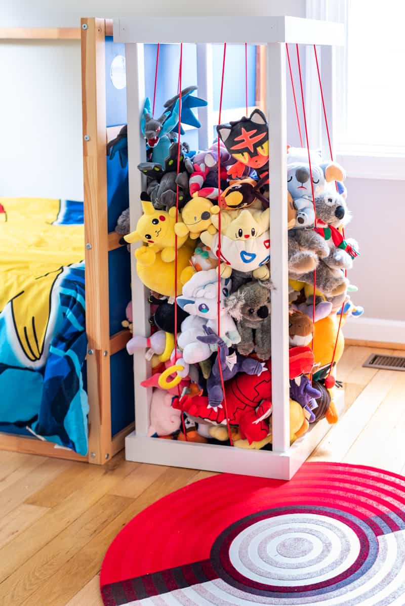 tall stuffed animal zoo filled with pokemon stuffed animals