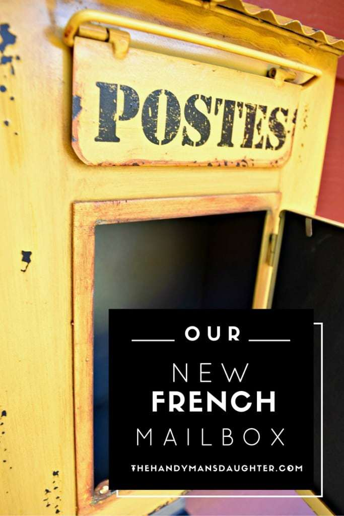 Our new French mailbox completes our front porch overhaul. - thehandymansdaughter.com