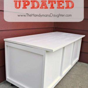 DIY Outdoor Storage Bench – Take Two