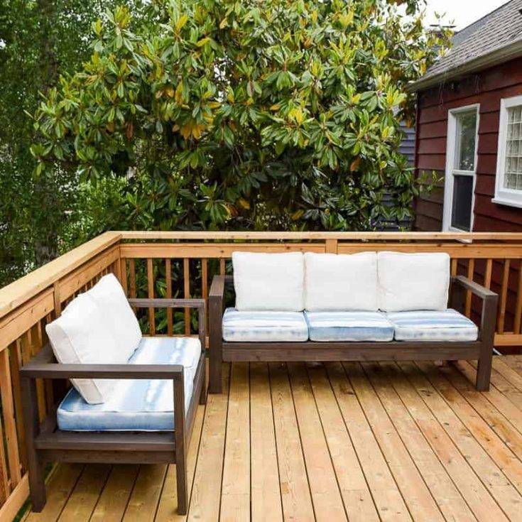37 Amazing DIY Outdoor Furniture Plans - The Handyman\'s Daughter