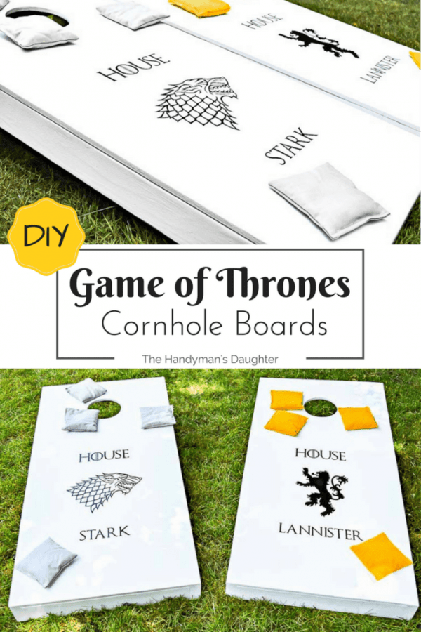 Game Of Thrones Game Cornhole Boards The Handyman 39 S