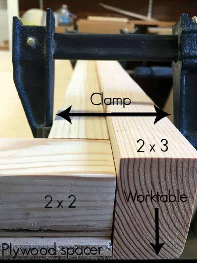 A picture is worth a thousand words! Here is how I set up the sides of my leather headboard frame. - The Handyman's Daughter