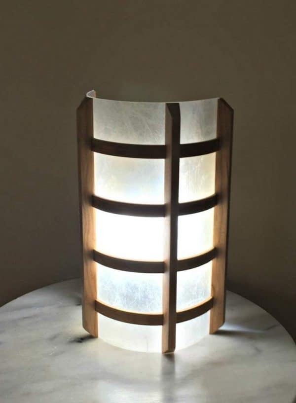 Japanese-Inspired DIY Wall Sconce