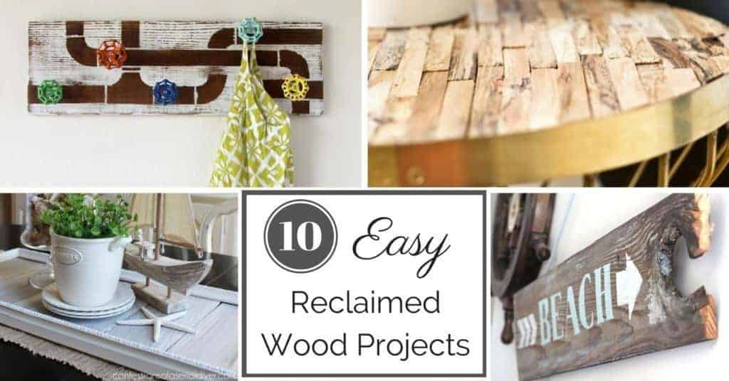 10 easy reclaimed wood projects the handyman 39 s daughter for Reclaimed wood sources