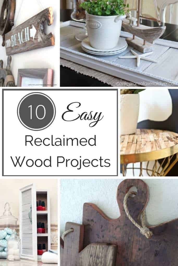 10 Easy Reclaimed Wood Projects - The Handyman\'s Daughter