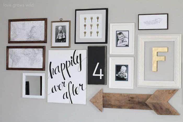 Preferred DIY Leather Arrow Wall Decor - The Handyman's Daughter LO56