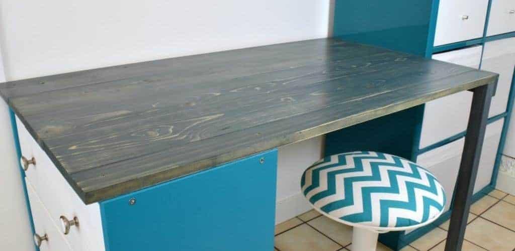 Rast + Kallax = New Desk {IKEA Desk Hack}