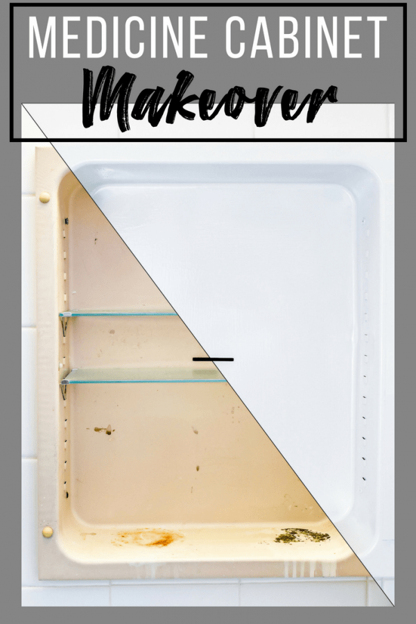 How To Paint A Rusty Medicine Cabinet The Handymans Daughter
