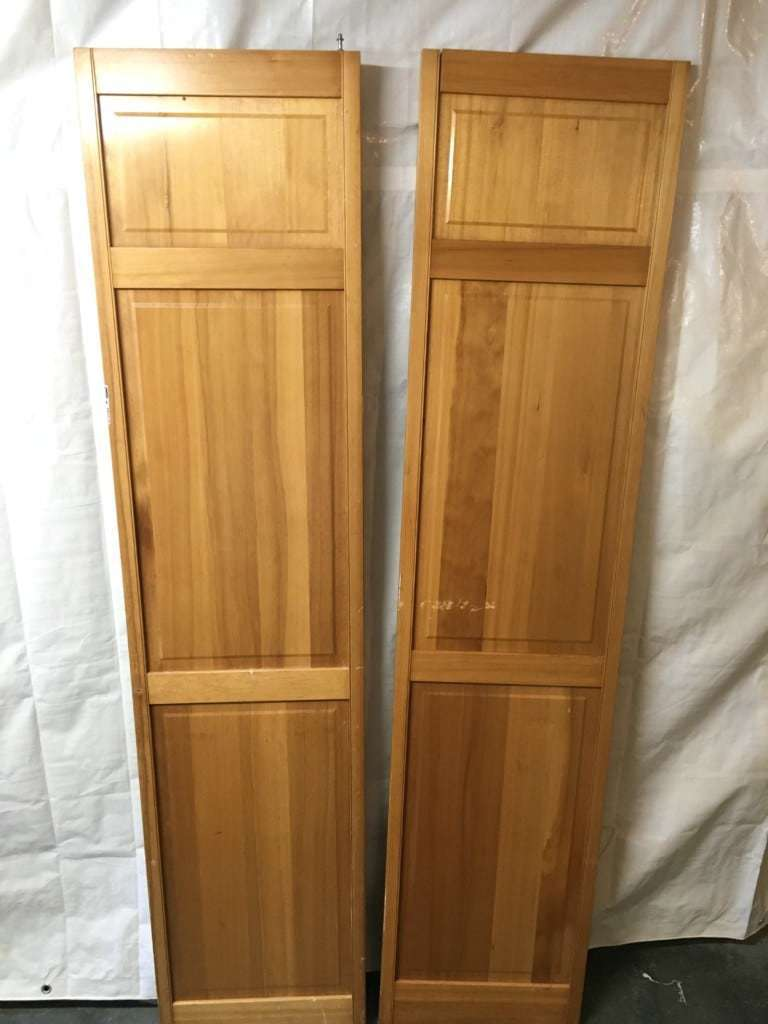 These bifold doors will be perfect to turn into a blanket box! - The Handyman's Daughter