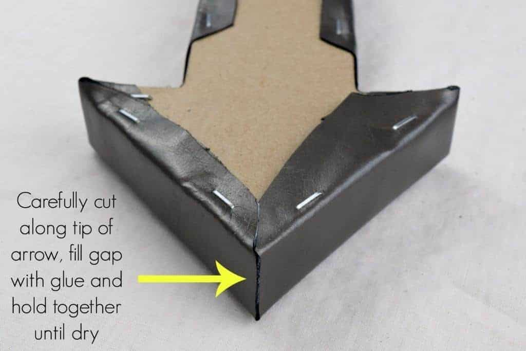 cut-tip-of-arrow-to-reduce-bulk-the-handymans-daughter