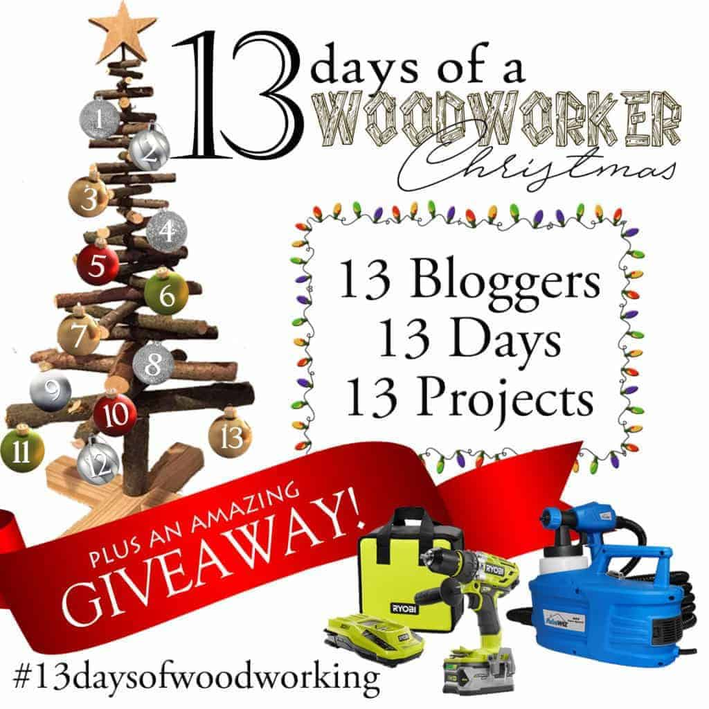 13 Days of a Woodworker Christmas