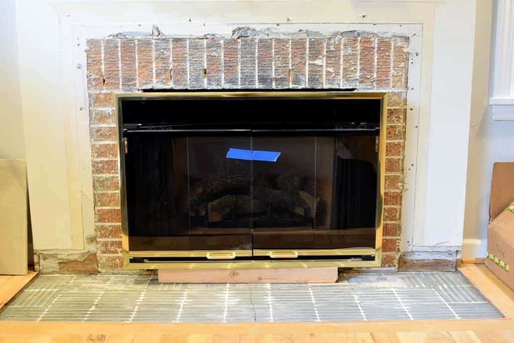 My fireplace demolition took a while, but I'm finally ready to start building it back up! - The Handyman's Daughter
