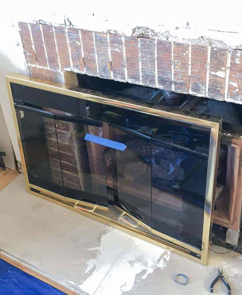 prepping the fireplace surround the handyman u0027s daughter