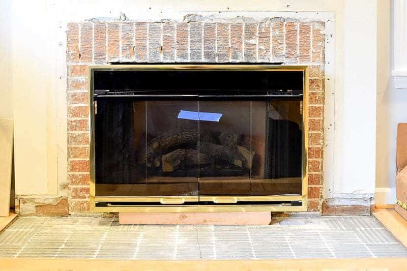 How To Remove Fireplace Surround Tile Fireplaces