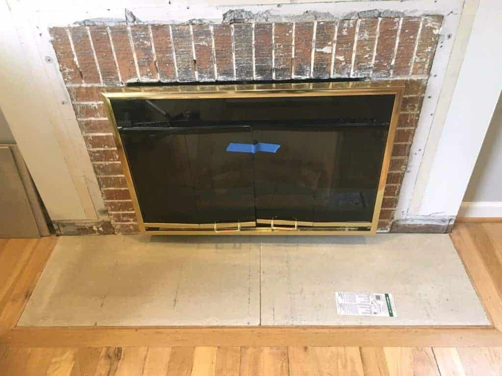 how to build a fireplace hearth the handyman u0027s daughter