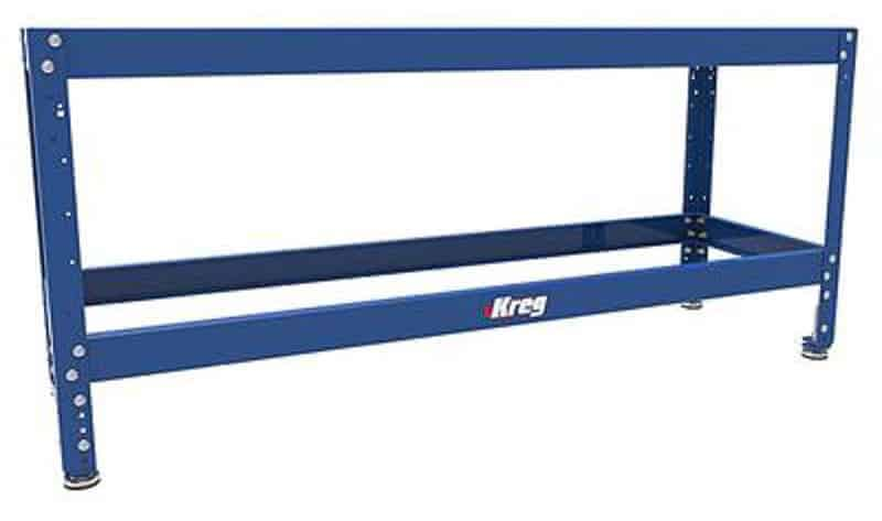 Kreg Tool's universal workshop bench makes it easy to customize your workshop organization to fit your space.