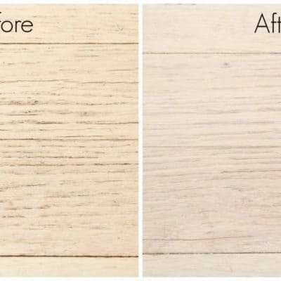 The difference before and after using Bona PowerPlus hardwood floor deep cleaner is amazing!