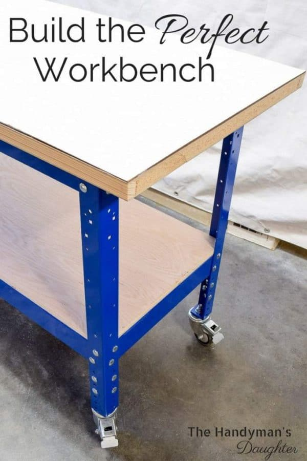 Build a strong, sturdy workbench for all of your DIY projects! This Kreg workbench has everything you need to make a functional workshop.