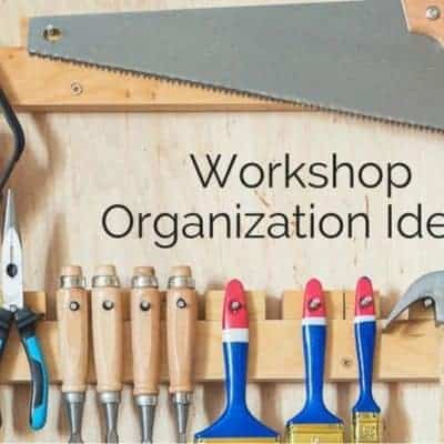 My New Year's Resolution for 2017 – Workshop Organization!