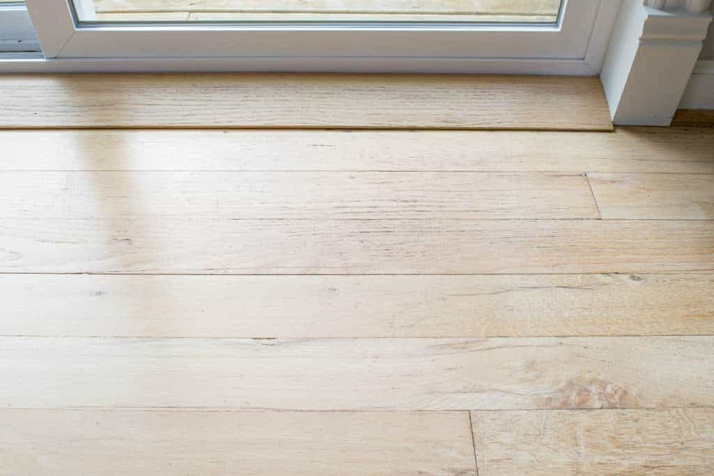 Doorways are the most important place to deep clean hardwood floors!