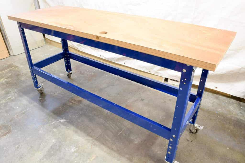My new Kreg workbench is starting to take shape!