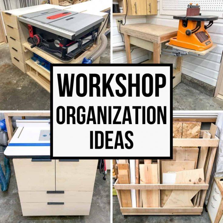 small garage workshop organization ideas