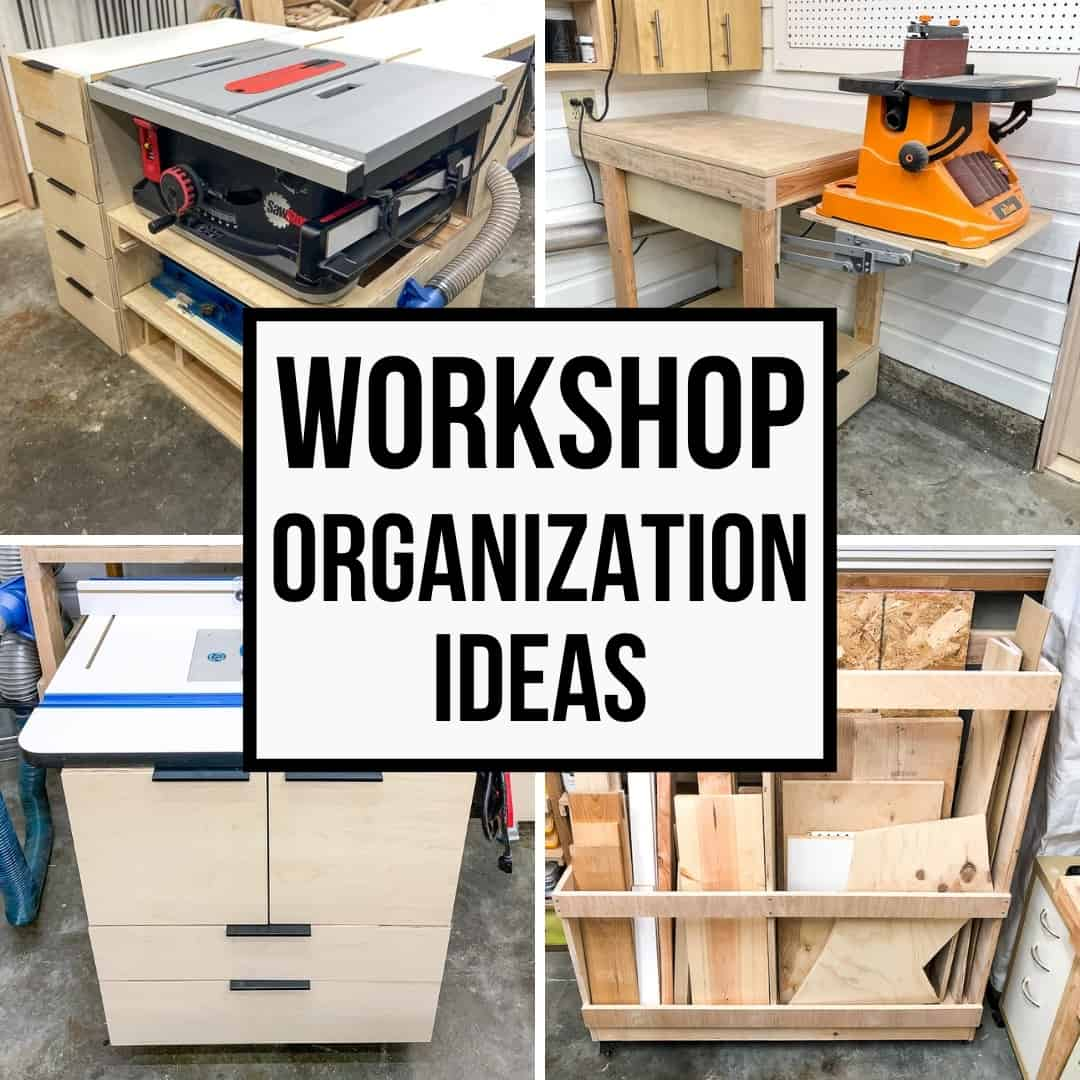 small garage workshop organization ideas