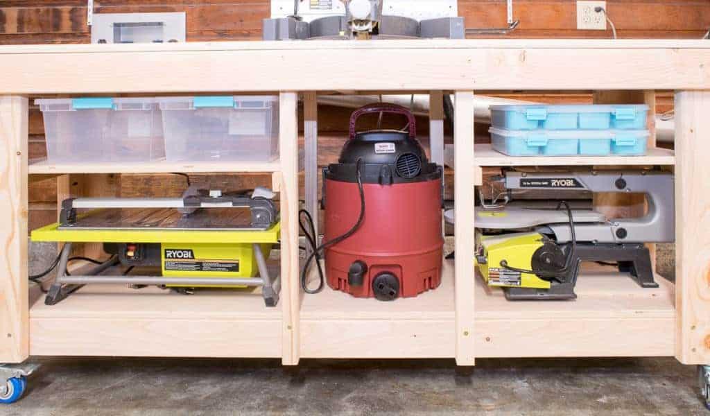 Workshop Wednesday – Miter Saw Stand with Extra Storage