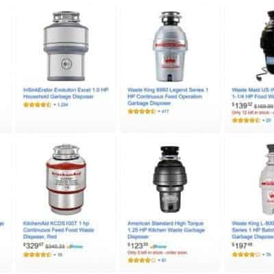 Amazon has plenty of top rated garbage disposals, and they'll get someone to install it for you with Amazon Home Services!