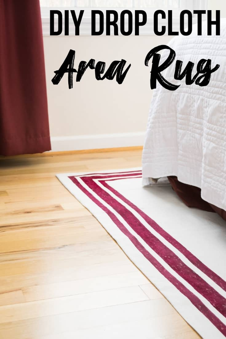 DIY rug - tutorial on how to make a rug