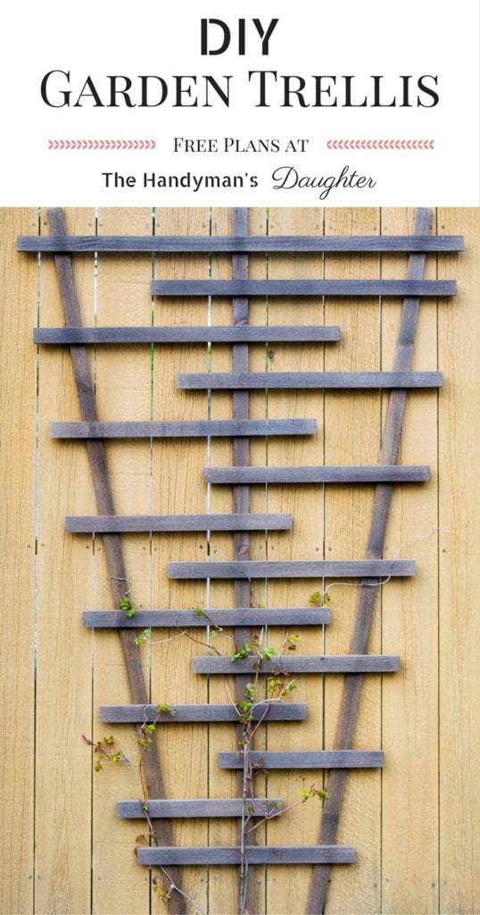 diy garden trellis with plans the handymans daughter