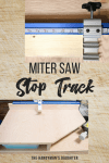 miter saw stop track and fence