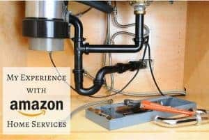 Sometimes even DIY bloggers hire help! I dreaded installing our garbage disposal, so I used Amazon Home Services to get it done right!