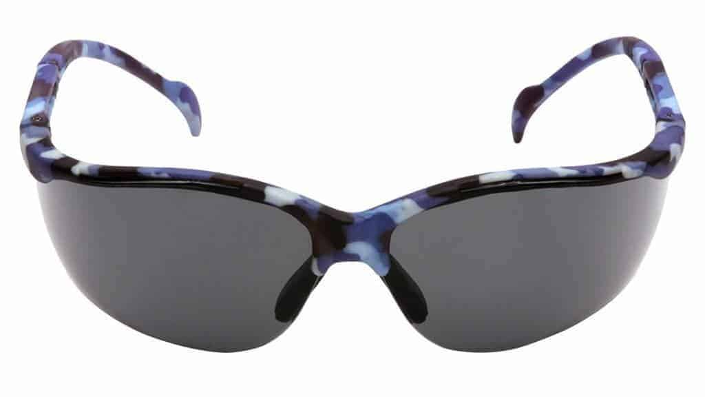 The Pyramex Venture II safety goggles not only look cool, but protect your eyes from the sun and debris at the same time!
