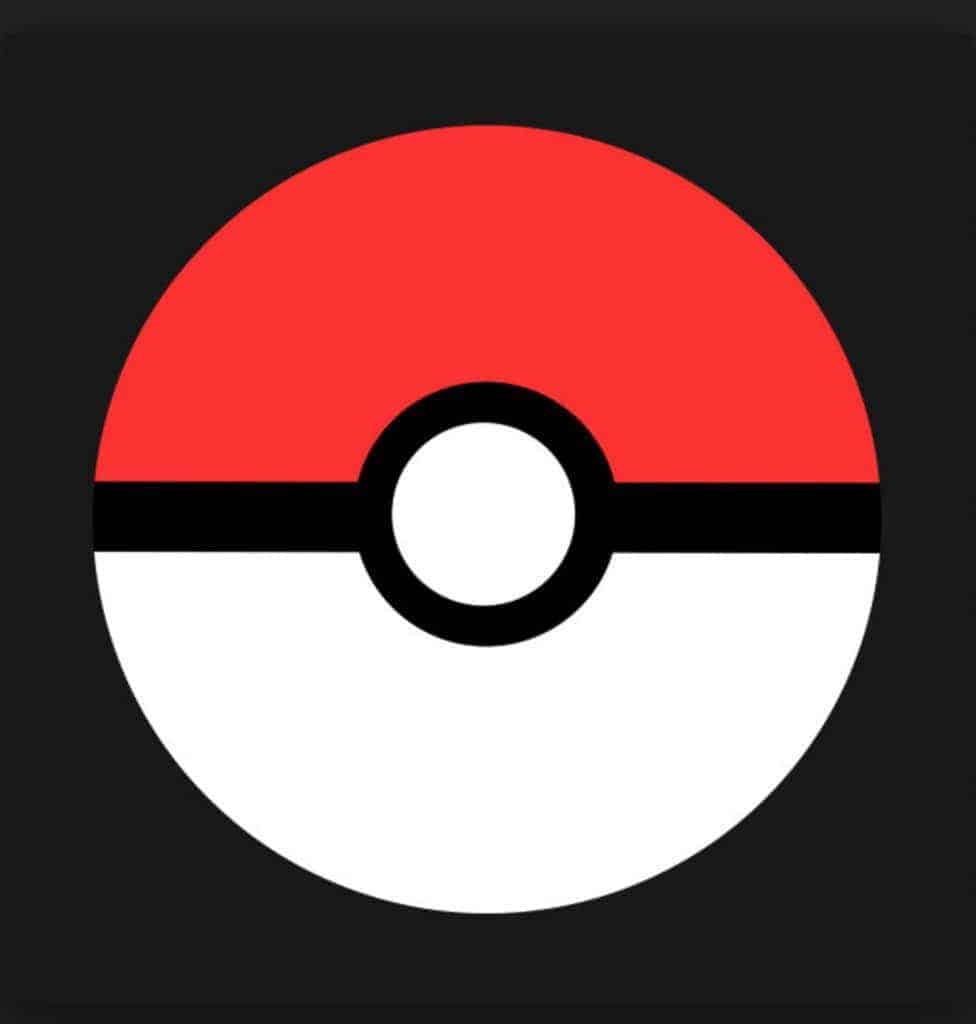 This pokeball image was the inspiration for my pokeball rug.